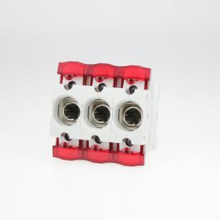 ABB ISS 16/3 NEOZED D0-Sicherungssockel 3-phasig, 16A ohne Schraubkappen